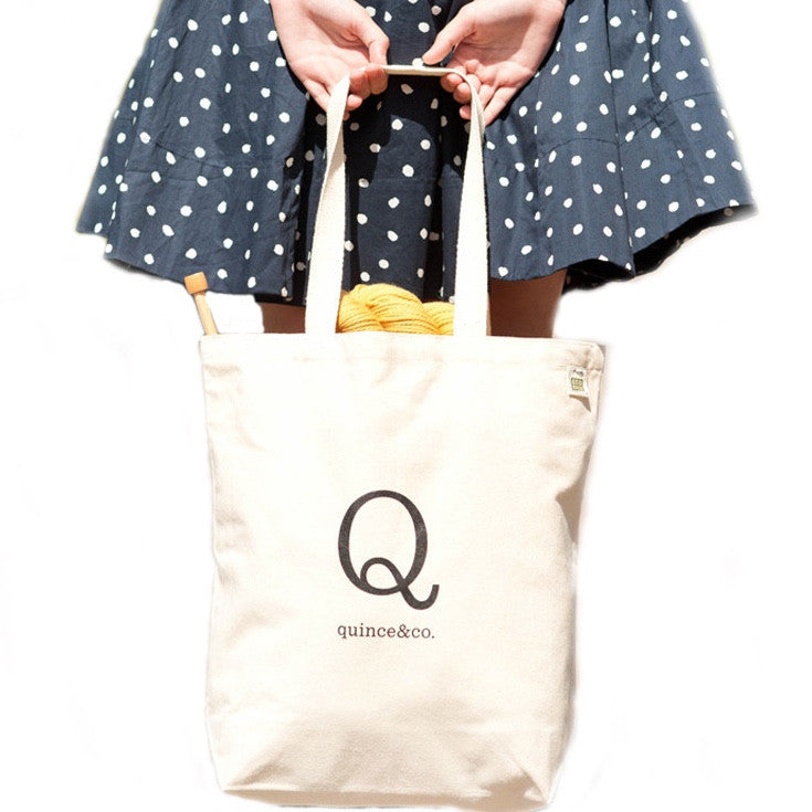 Quince and Co. Tote Bag