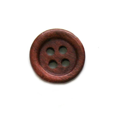Buttons: Wood 4 Holes 15mm