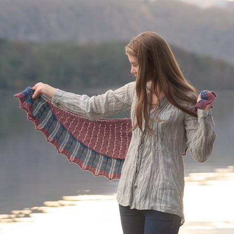 Fibre Co Tobermory Shawl Project