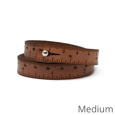 Wrist Ruler: Leather