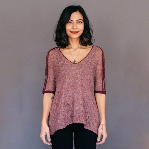 Quince & Co. Aisa Tee/Top Project
