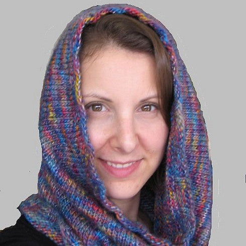 Boboli Cowl (worsted version) Pattern FREE