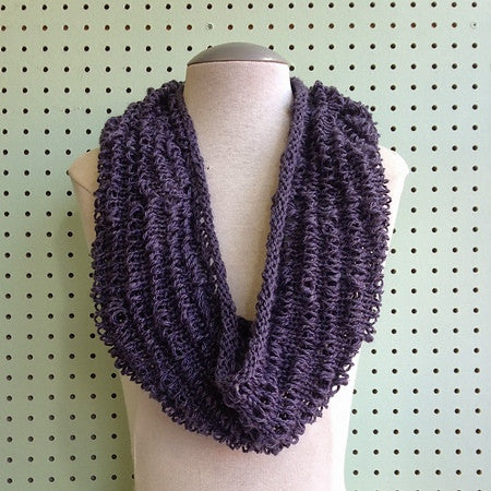 Dropped Stitch Spring Cowl Pattern FREE
