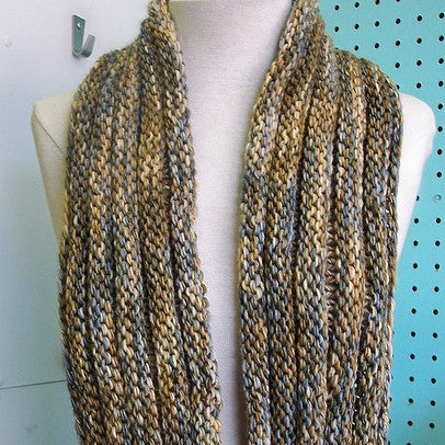Long Missoni Mobius Cowl FREE
