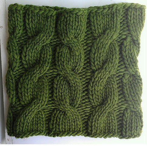 Super Simple Cabled Cowl Pattern Free Knit O Matic