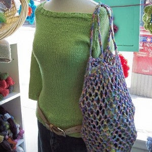 Eco Warrior Crochet Shopping Bag Pattern - FREE