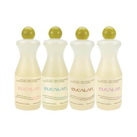 Eucalan No-Rinse Delicate Wash:  500ml/19.9oz