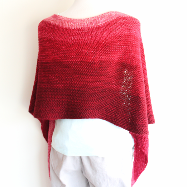 Easy Gradient Garter Scarfy-Wrap Project