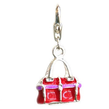Clip-On Stitch Markers with Charms