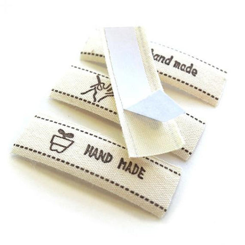 "Decorative Label/Tags: ""Hand Made"""