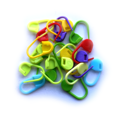 Rainbow Locking Stitch Markers