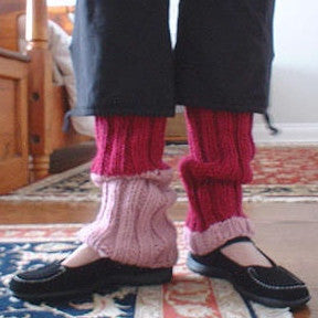 Ribbed Leg Warmers Pattern - FREE