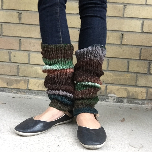 Stay-Up Legwarmers (Worsted/Aran)