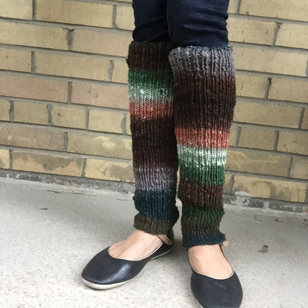 Stay Up Legwarmers Worsted Aran Pattern Free Knit O Matic