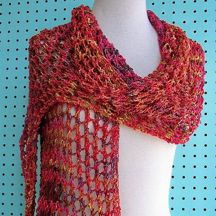 Easy Peasy Lace Wrap Pattern - FREE