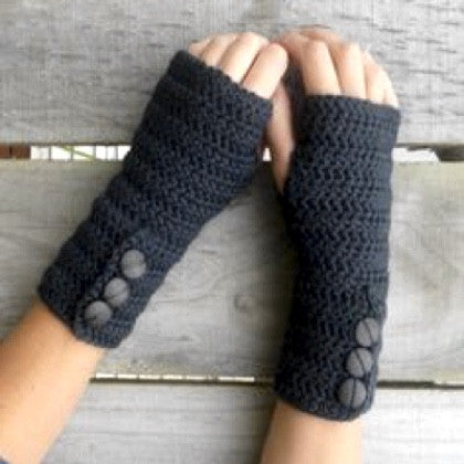 Beginner Crochet 1: Wrist-warmers/Scarf