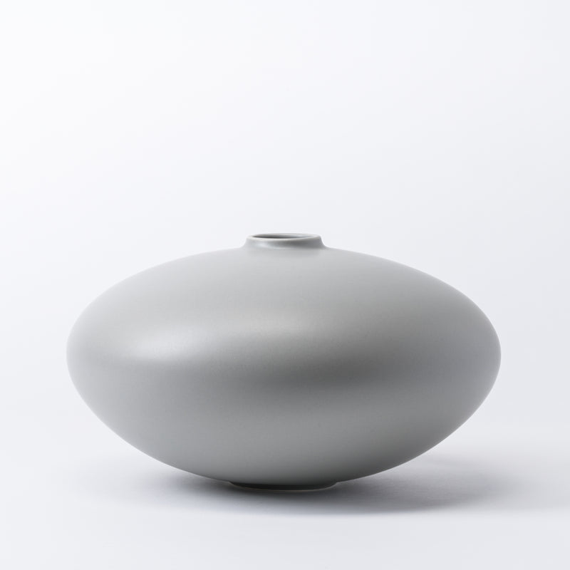 raawii Alev - Vase 02 Large Vase Misty Grey