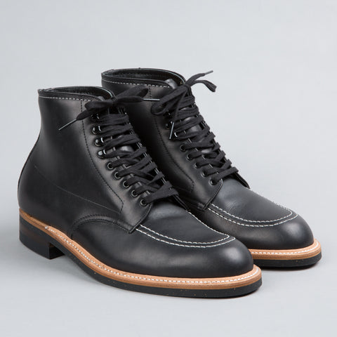 INDY BOOT BLACK CALFSKIN 401