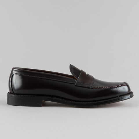 LEISURE HANDSEWN PENNY LOAFER COLOR 8 SHELL CORDOVAN 986