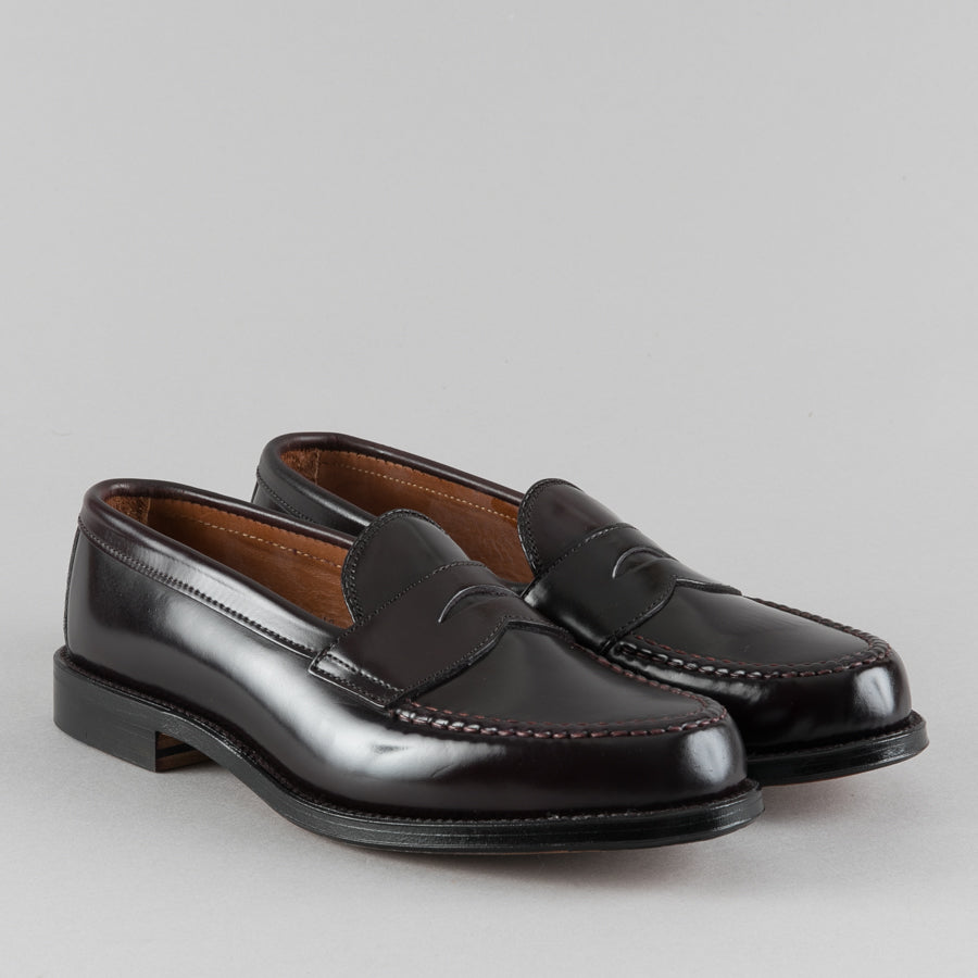 3b299540e9a ... ALDEN-LEISURE HANDSEWN PENNY LOAFER COLOR 8 SHELL CORDOVAN 986-Supply    Advise ...