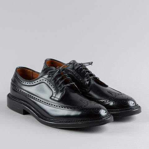 LONGWING BLUCHER BLACK SHELL CORDOVAN 9751