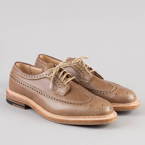 LONGWING BLUCHER NATURAL CHROMEXCEL 97870
