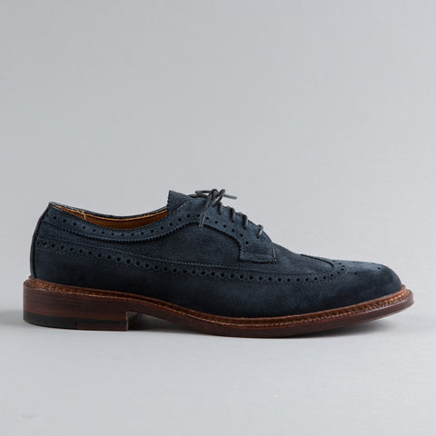 LONGWING BLUCHER NAVY SUEDE 97676F