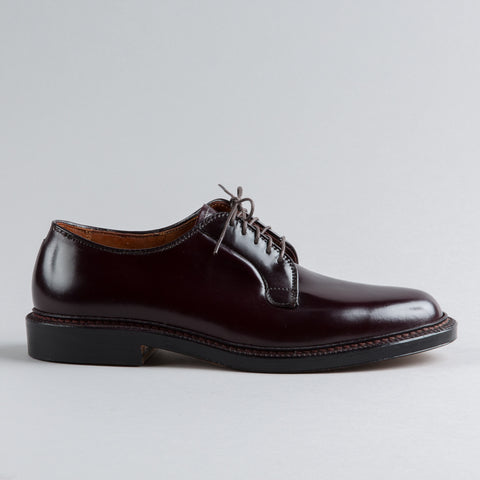 PLAIN TOE BLUCHER COLOR 8 SHELL CORDOVAN 990
