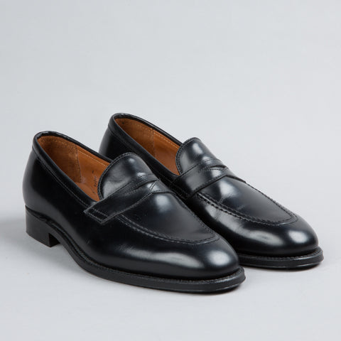 PLAZA SLIP-ON BLACK CALFSKIN 3557