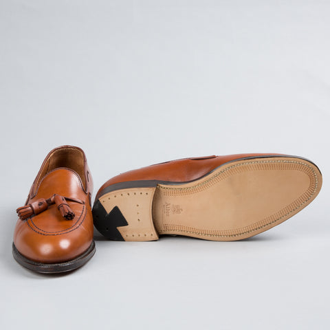 TASSEL MOCCASIN BURNISHED TAN CALFSKIN 662