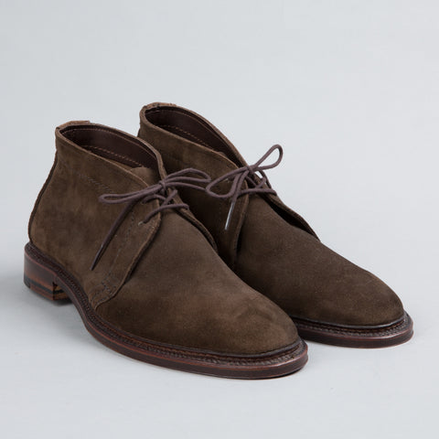 UNLINED CHUKKA DARK BROWN SUEDE 1492