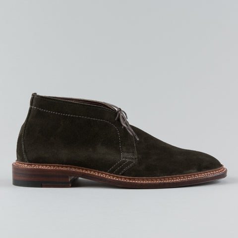 UNLINED CHUKKA HUNTING GREEN SUEDE 14928