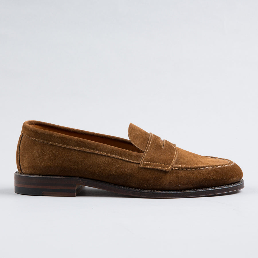 8c31762a77e ALDEN-UNLINED PENNY LOAFER SNUFF SUEDE 6243F-Supply   Advise ...