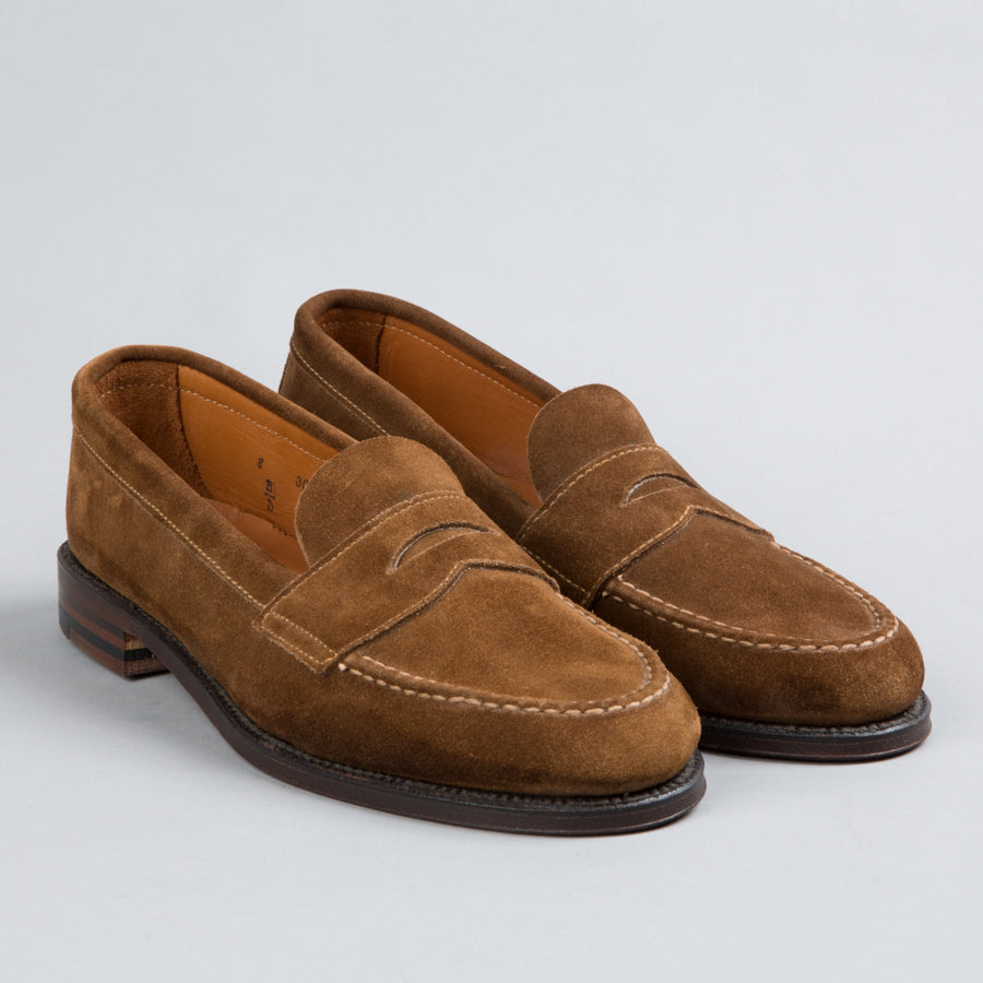 947dfed6562 ... ALDEN-UNLINED PENNY LOAFER SNUFF SUEDE 6243F-Supply   Advise ...