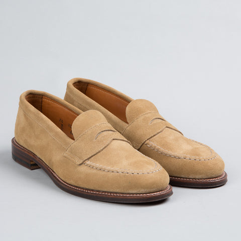 UNLINED PENNY LOAFER TAN SUEDE 6244F