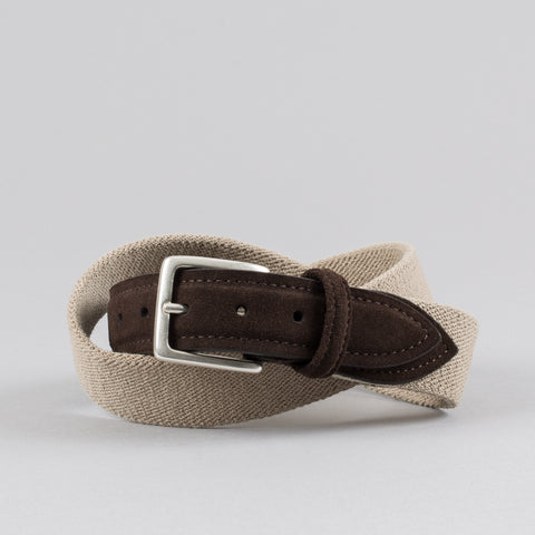 982085b19a45 STRETCH CANVAS BELT BEIGE MOCHA ...