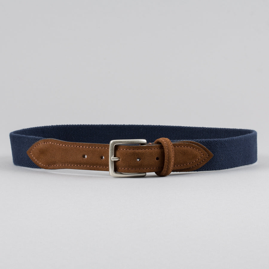 5fdbead69d04 ... ANDERSON S-STRETCH CANVAS BELT NAVY SNUFF-Supply   Advise