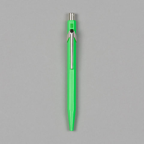 849 METAL BALLPOINT PEN FLUORESCENT GREEN