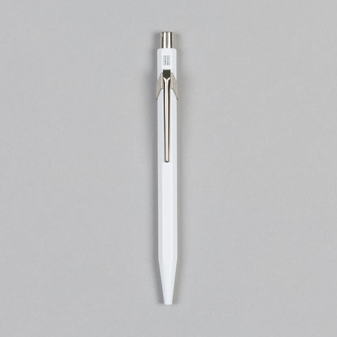 849 METAL BALLPOINT PEN WHITE