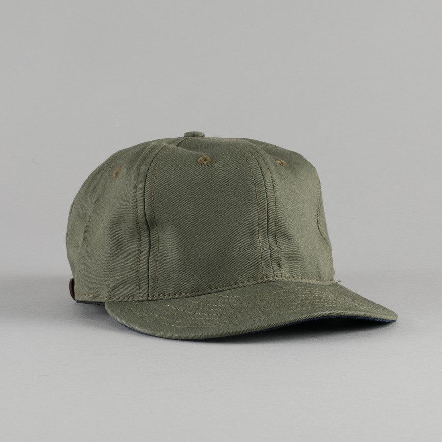 EBBETS FIELD FLANNELS-CHINO TWILL BALL CAP OLIVE-Supply   Advise ... ea41112d81d