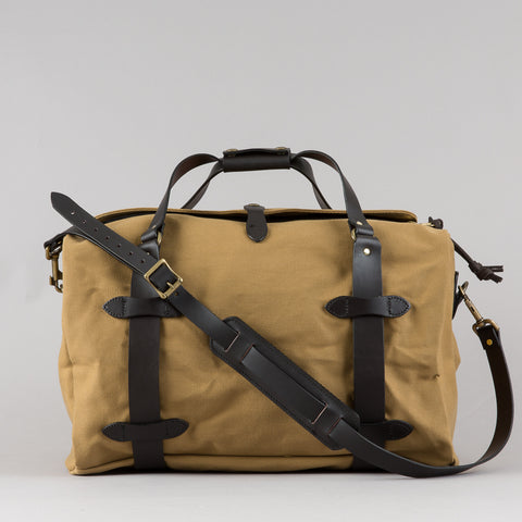 MEDIUM DUFFLE TAN