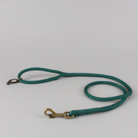 ROPE LEASH FOREST GREEN