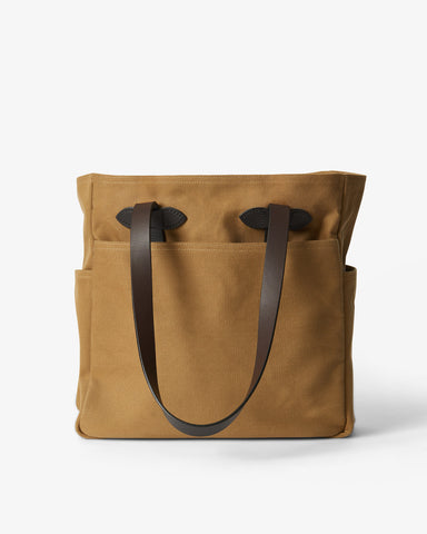 TOTE BAG WITHOUT ZIPPER TAN