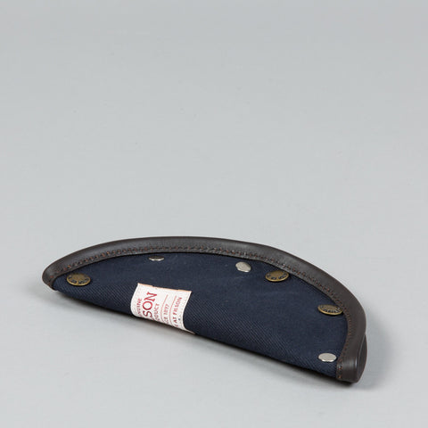 TWILL/LEATHER TRAVEL TRAY NAVY