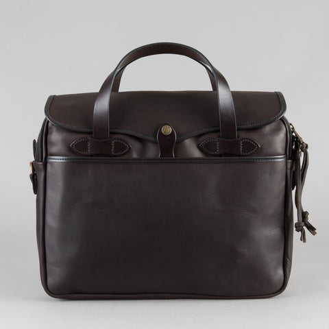 WEATHERPROOF LEATHER ORIGINAL BRIEFCASE  SIERRA BROWN