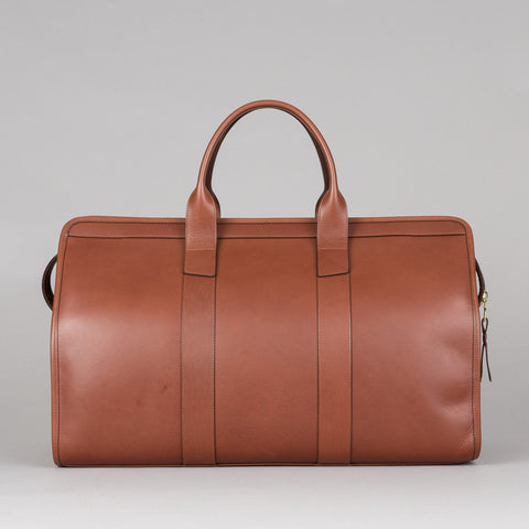 SIGNATURE DUFFLE WITH POCKET CHESTNUT