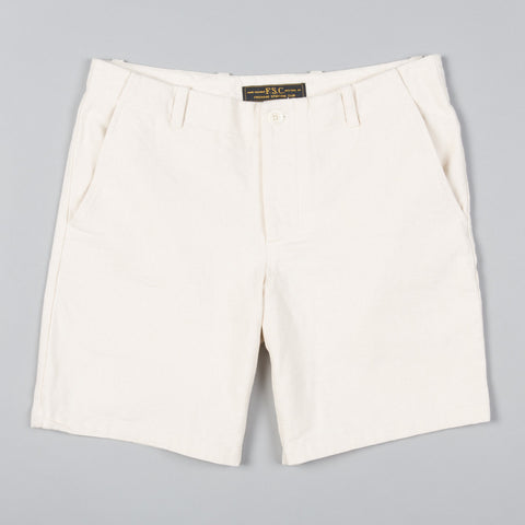 FSC SHORTS NATURAL DUCK CANVAS