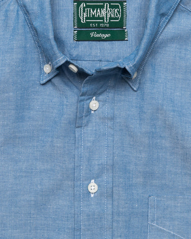 CLASSIC CHAMBRAY BUTTON DOWN BLUE
