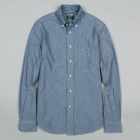 CLASSIC CHAMBRAY BUTTON DOWN NAVY