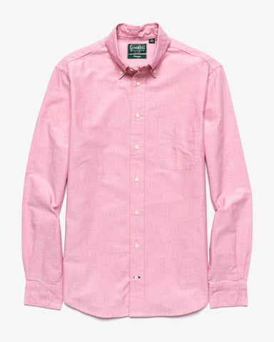 CLASSIC OXFORD BUTTON DOWN RED